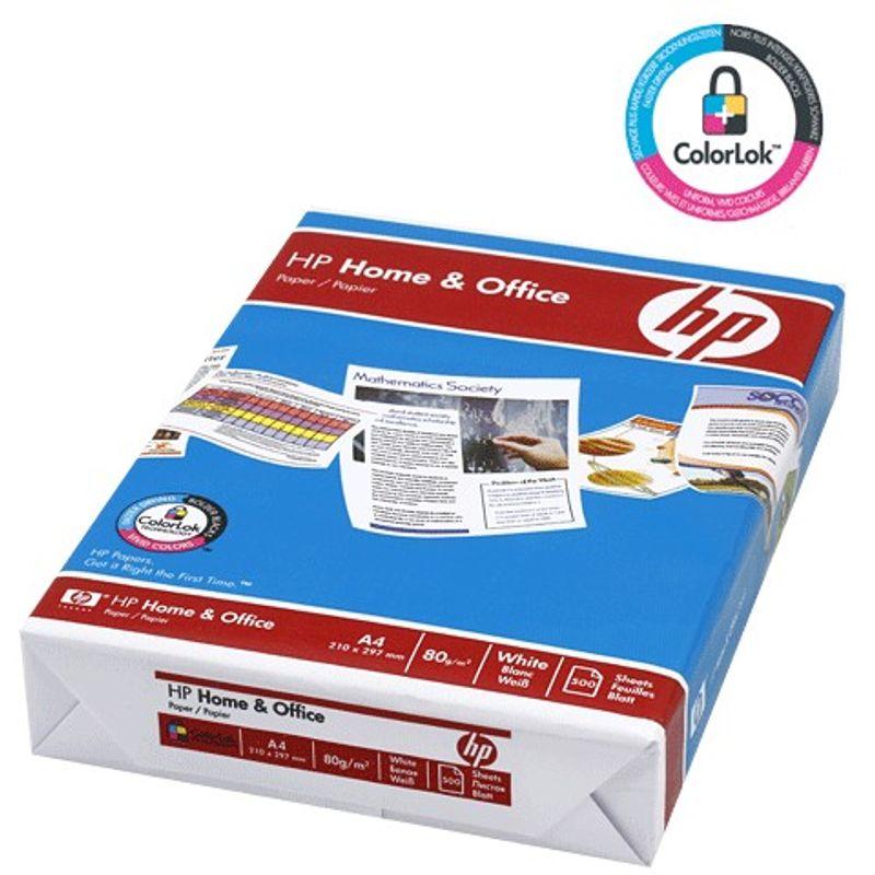 Папір офісний A4 80г/м2 HP home&office 500 арк