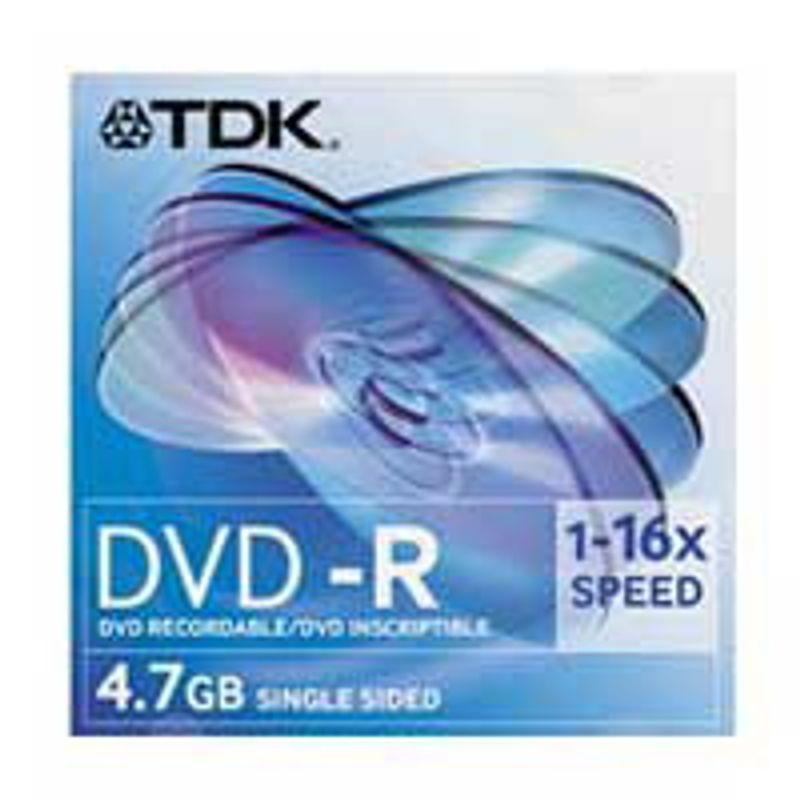 Диск DVD-R Slim TDK 4. 7GB/120min 16x