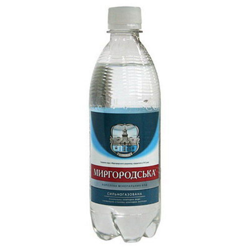 Вода мінеральна сильногазована Миргородська, 0, 5л