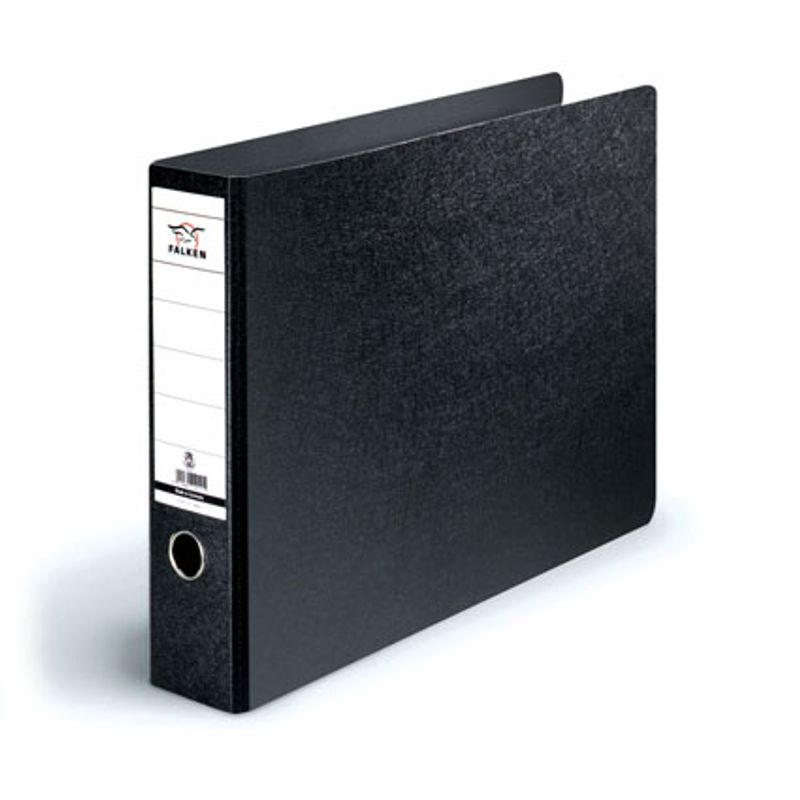 Папка накопительная PVC-карт. А3 7см гориз. черн