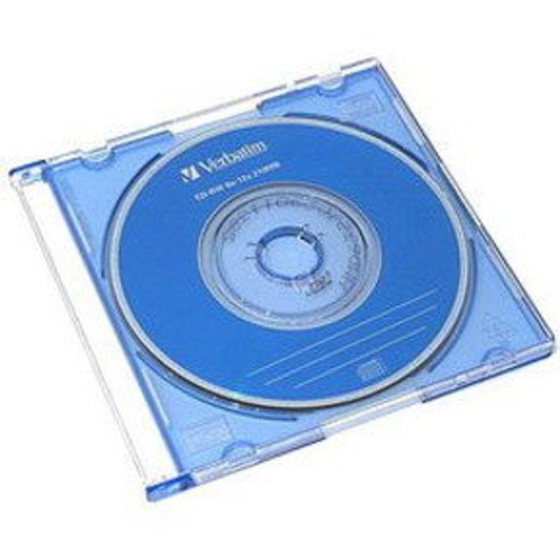 Диск CD-R mini Slim Verbatim DL 210MB/80 min 52x