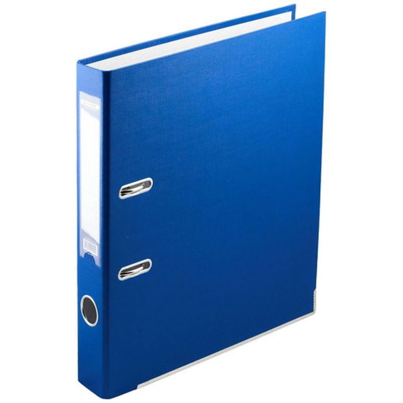 Папка накопительная PVC-карт. А4 5 см син