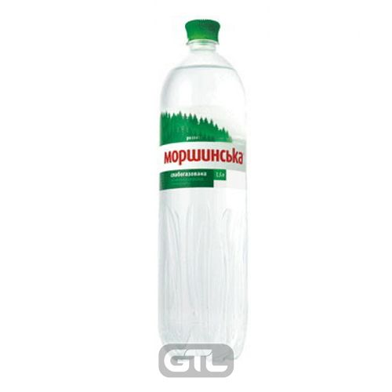 Вода мінеральна слабогазована Моршинська 1, 5л