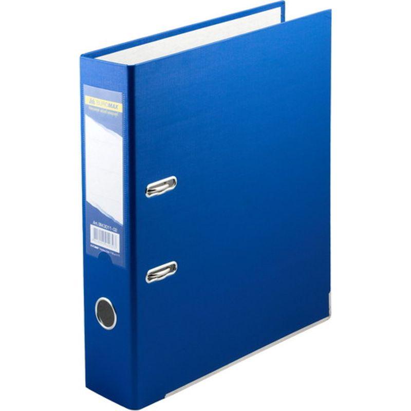 Папка накопительная PVC-карт. А4 7 см син