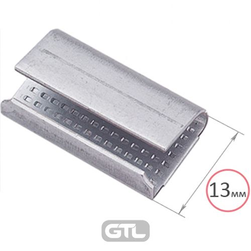 Скоба для ПП ленты металл 12 мм (3. 0 тыс в упак)