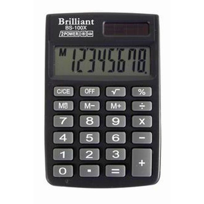 Калькулятор кишеньк. 8-разр. 57х83х7