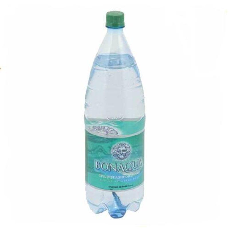 Вода мінеральна слабогазована БонАква, 1л