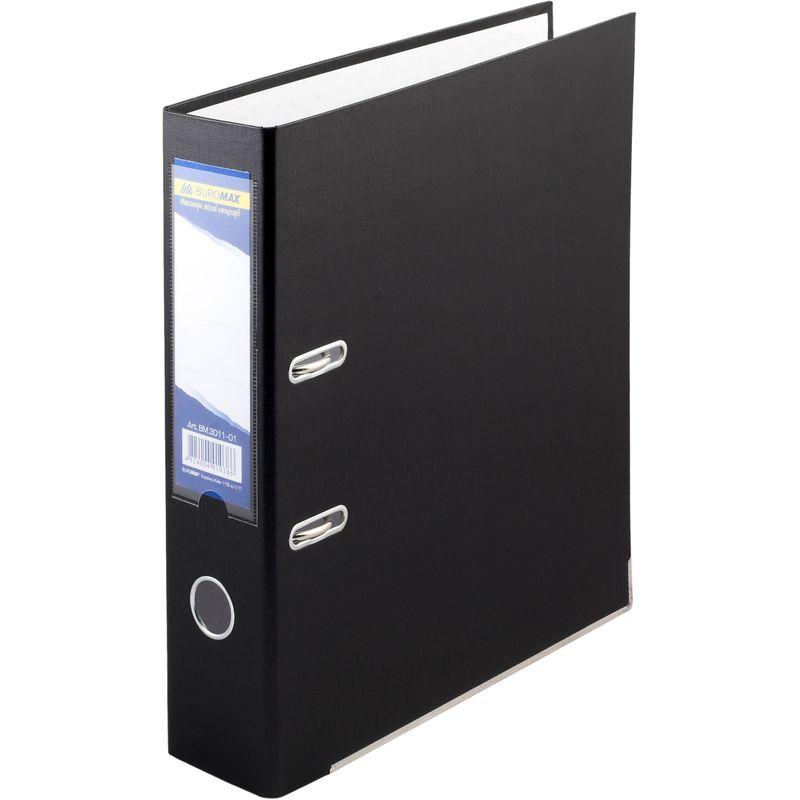 Папка накопительная PVC-карт. А4 7 см черн