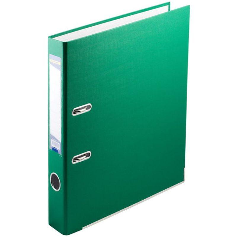 Папка накопительная PVC-карт. А4 5 см зел