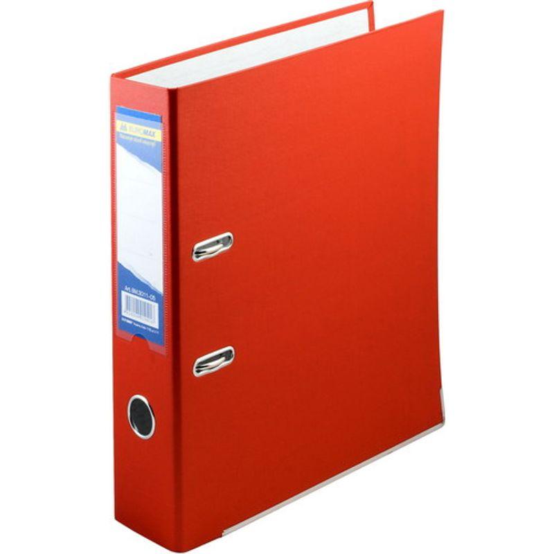Папка накопительная PVC-карт. А4 7 см красн