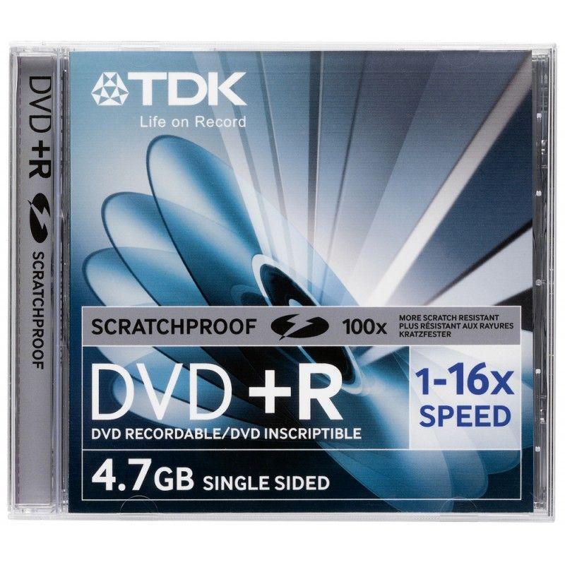 Диск DVD+R Slim 8, 5 GB TDK DL 8x
