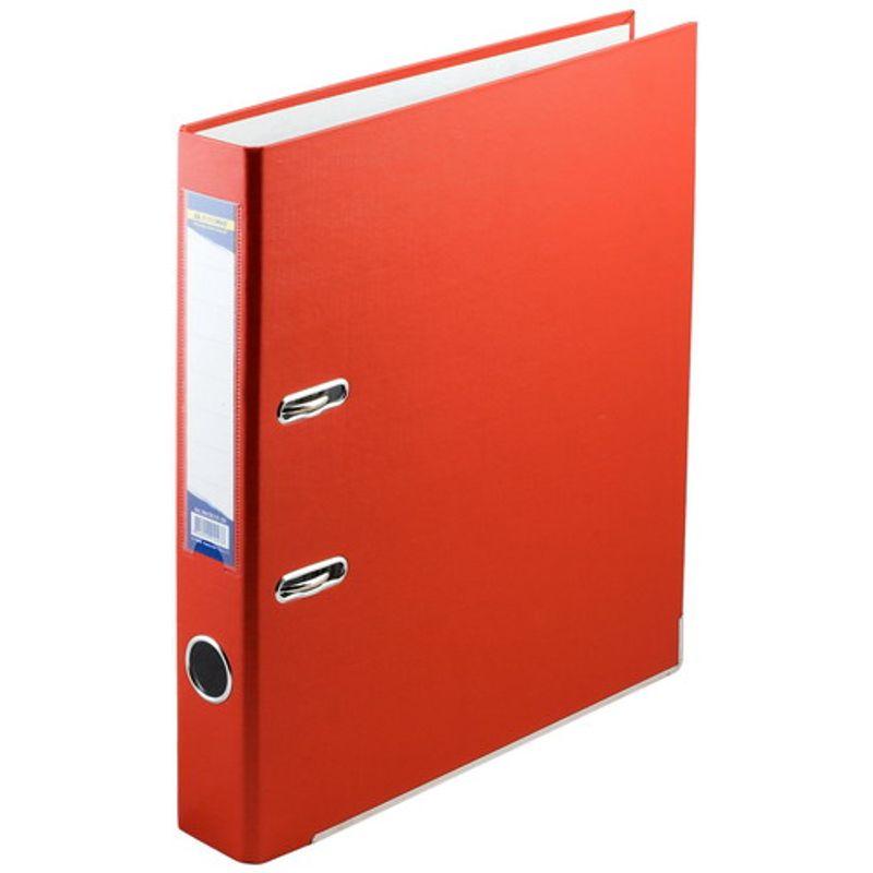 Папка накопительная PVC-карт. А4 5 см красн