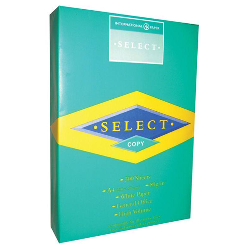 Папір офісний A4 80г/м2 Seleсt Copy 500 арк