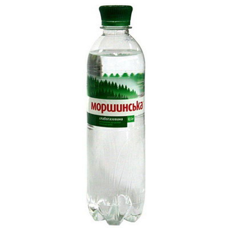 Вода мінеральна слабогазована Моршинська 0, 5л