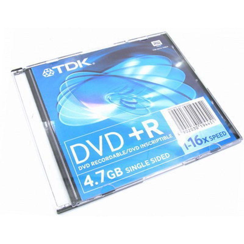 Диск DVD-R Slim TDK 4. 7GB/120min 16x Video Box