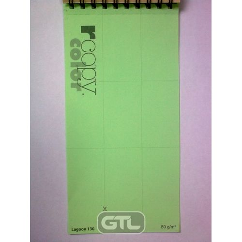Папір кольоровий A4 зел пастель (80г/м2)500арк