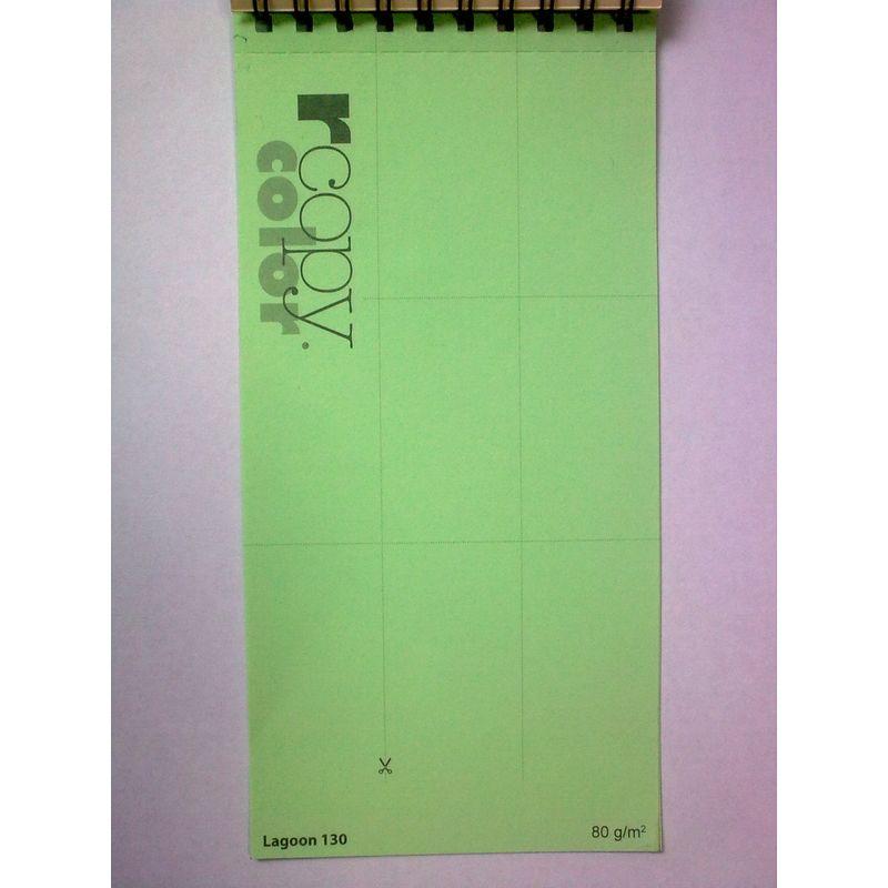 Папір кольоровий A4 зел пастель (160г/м2)250арк