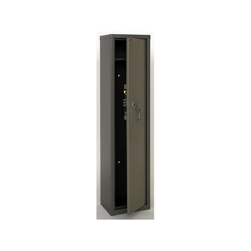 сейф збройовий; зовн. 1060х260х200мм, внут. 870/105х257х197мм; 2 замка ключових; Вес17