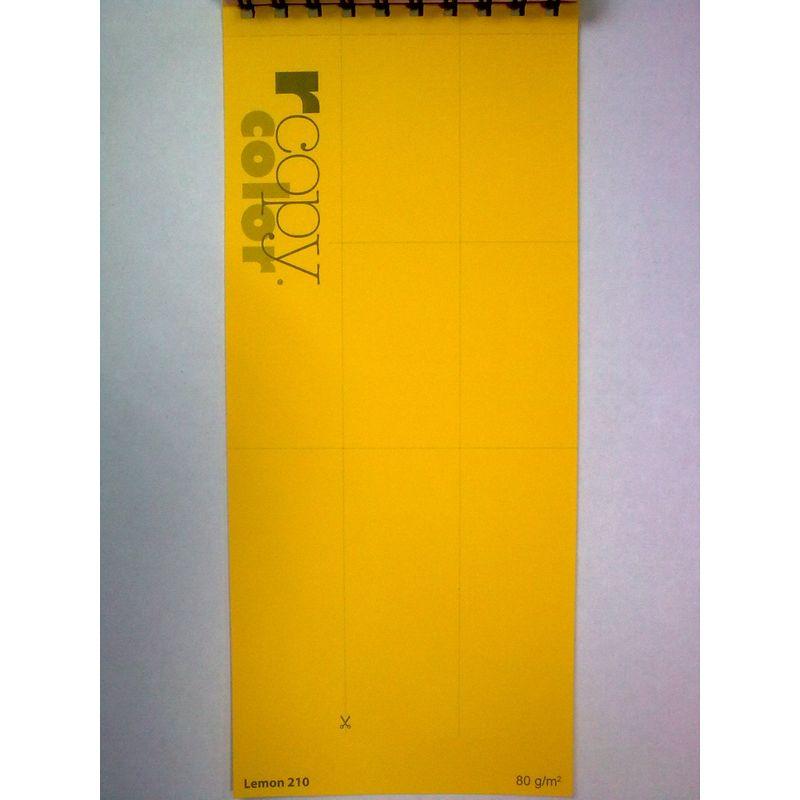 Папір кольоровий A4 жовт. насич. (80г/м2)500арк