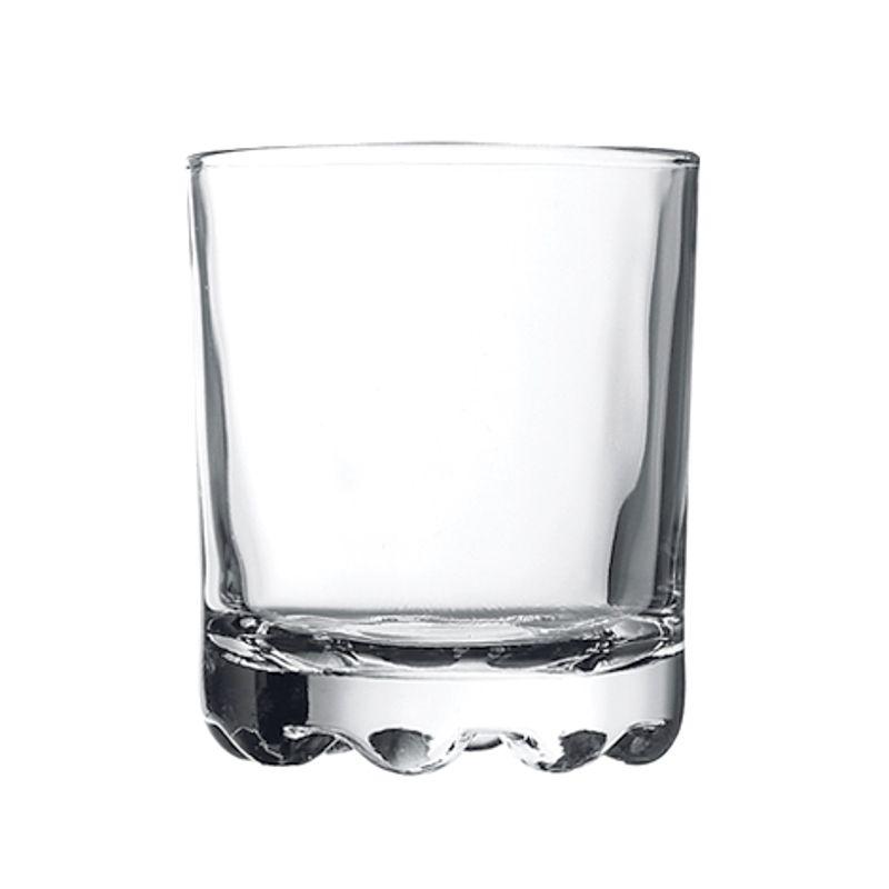 Стакан стекло Karaman низкий 250 мл, 6 шт/уп
