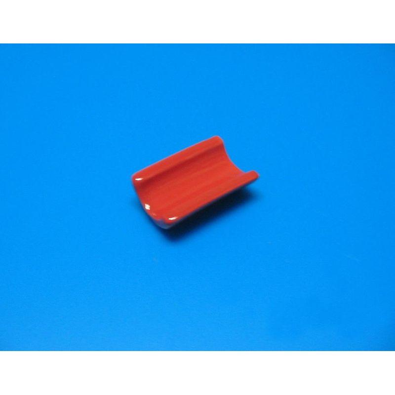 Підставка фарфор червона для паличок 5 см
