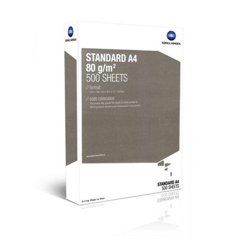 Папір офісний A4 80г/м2 Konica Minolta Standard 500 арк