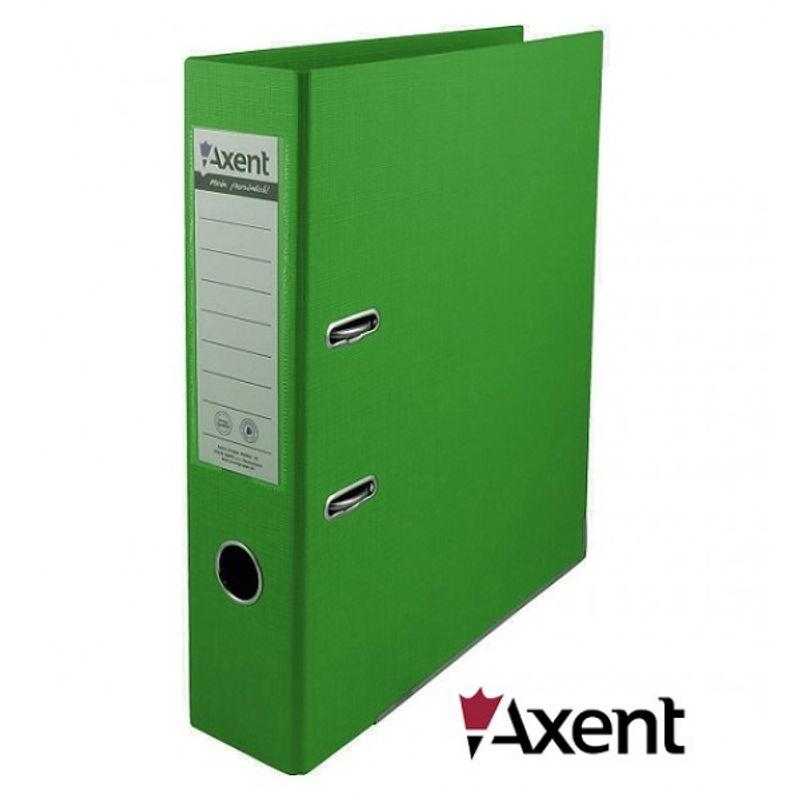 Папка накопительная PVC А4 7 см зеленая