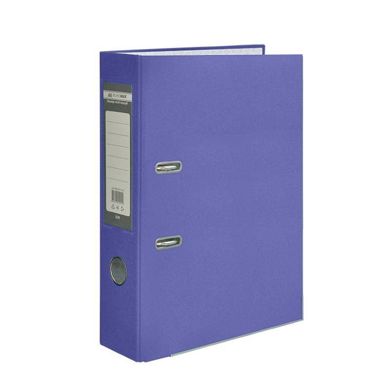 Папка накопительная PVC-карт. А4 7 см фиолет