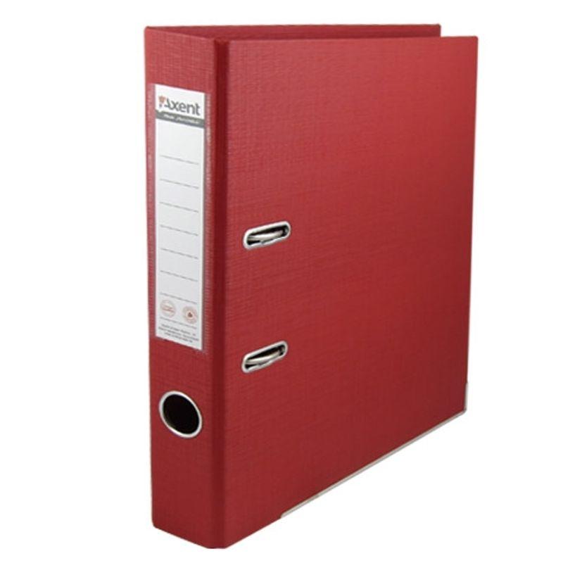 Папка накопительная PVC А4 7 см красная