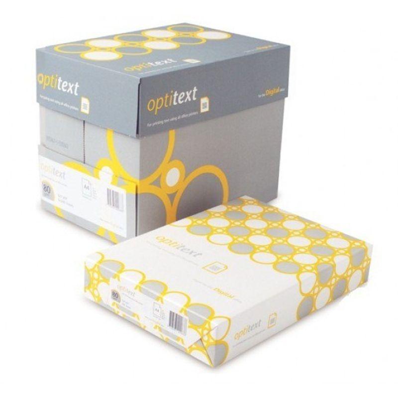 Папір офісний A4 80г/м2 Optitex 500арк