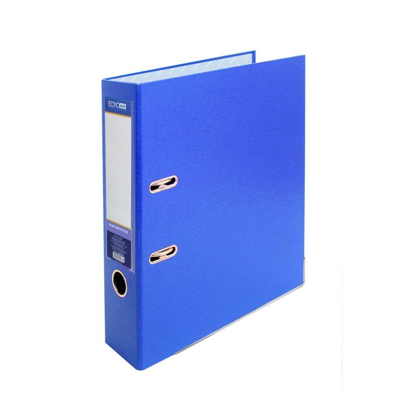 Папка накопительная PVC-карт. А4 7 см синяя