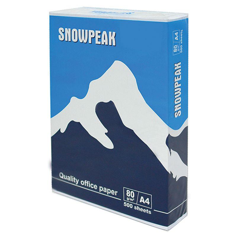 Папір офісний A4 80г/м2 Snowpeak 500 арк