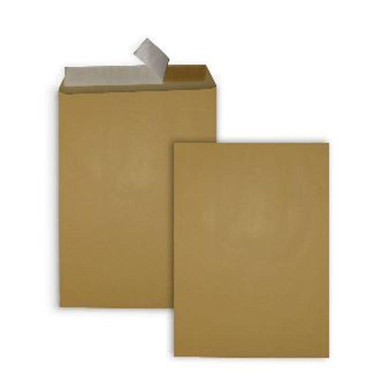 Конверт картон. В4 (250х351мм) крафт СКЛ (0+0) з відривною смужкою
