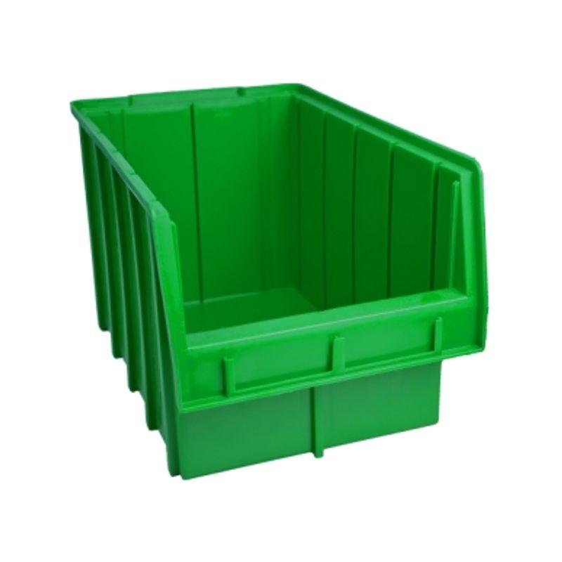 Ящик складской 700. 20*21*35см зелений