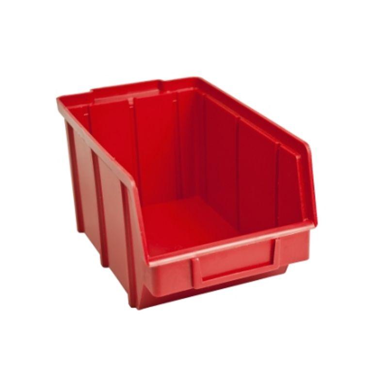 Ящик складской 701. 12, 5*14, 0*2, 3см червоний
