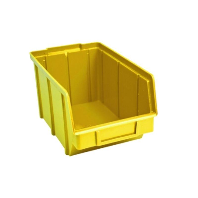 Ящик складской 701. 12, 5*14, 0*2, 3см жовтий