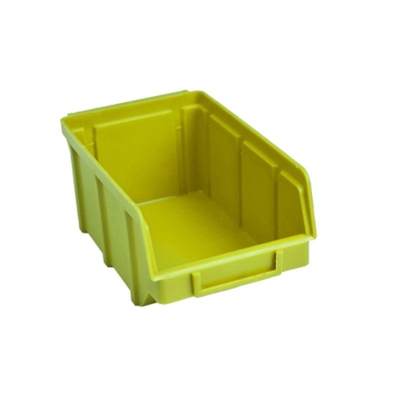 Ящик складской 702. 7, 5*10*15, 5см зелений