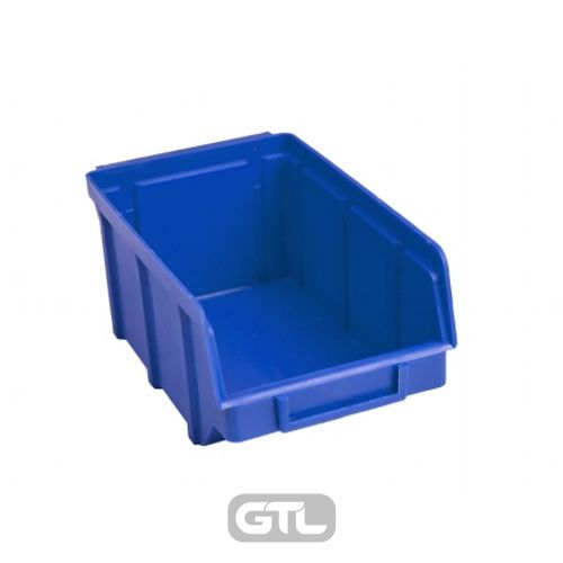 Ящик складской 702. 7, 5*10*15, 5см синій
