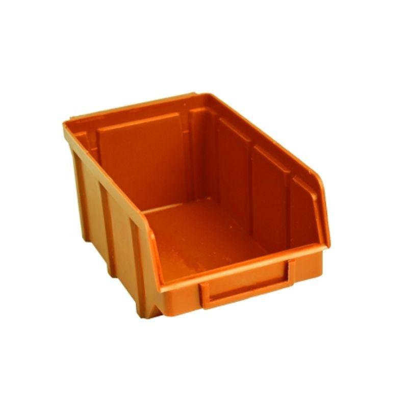 Ящик складской 702. 7, 5*10*15, 5см помаранчевий