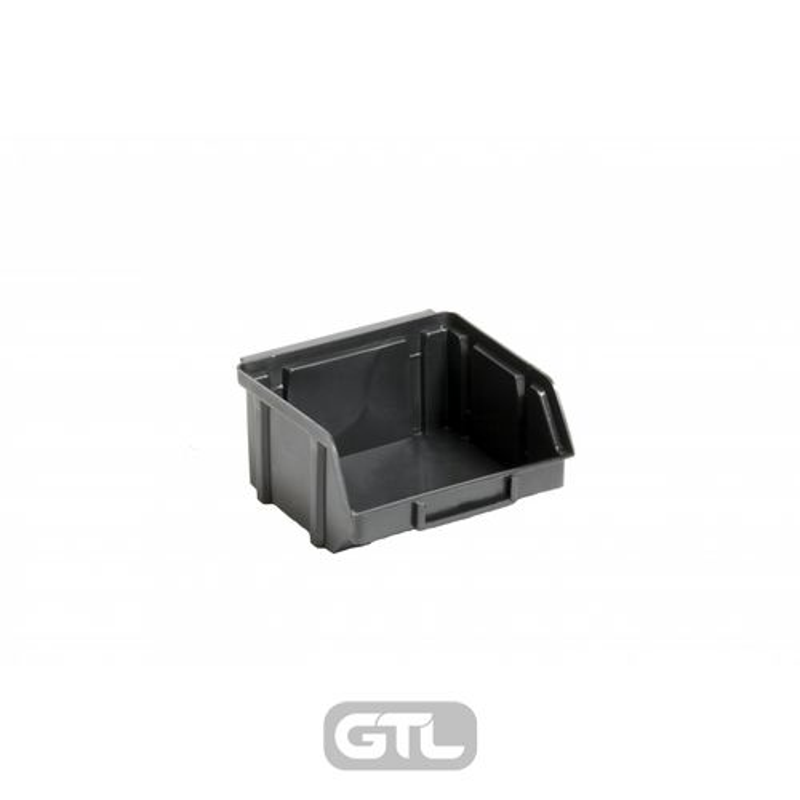 Ящик складской 703. 0, 5*10*0, 9см чорний