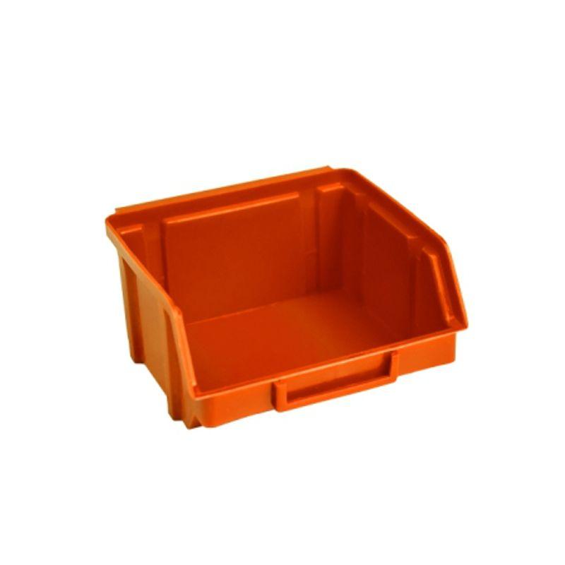 Ящик складской 703. 0, 5*10*0, 9см помаранчевий